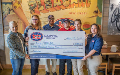 Arc  and HHEAL benefit from Jersey Mike's grand opening