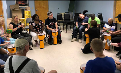 Ridge Area Arc welcomes The Rhythmic Arts Project (T.R.A.P.)