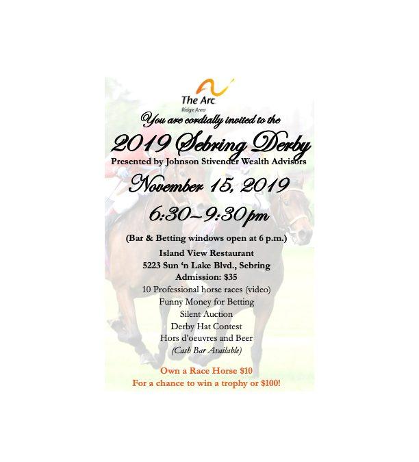 2019 Sebring Derby Event