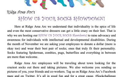 Show Us Your Socks Showdown